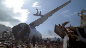 Het vliegtuig uit de pilot-aflevering van Lost